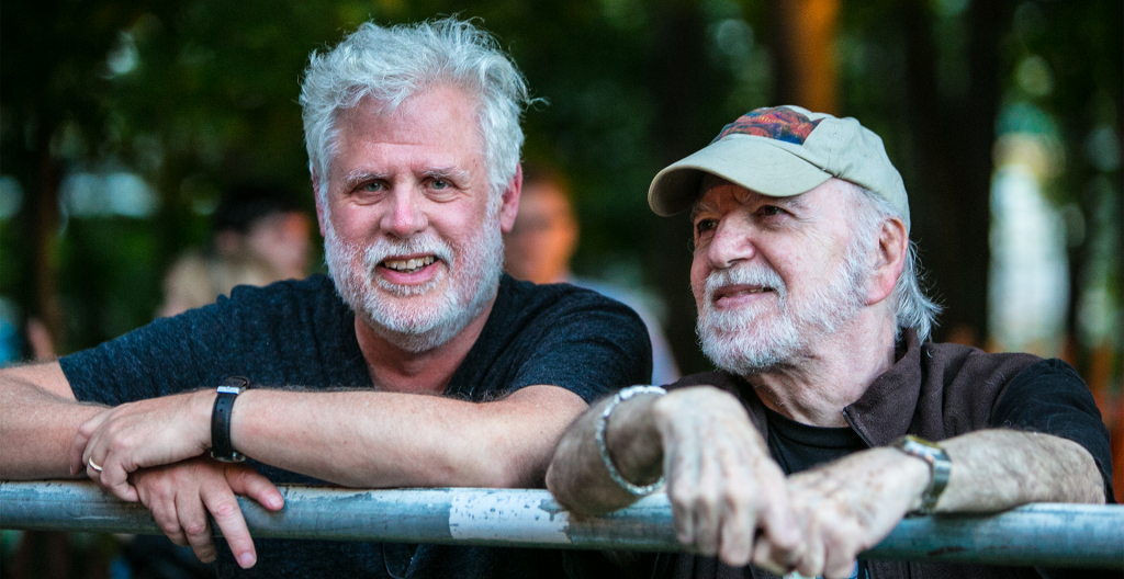 David Dye and Gene Shay (photo: Howard Pitkow)