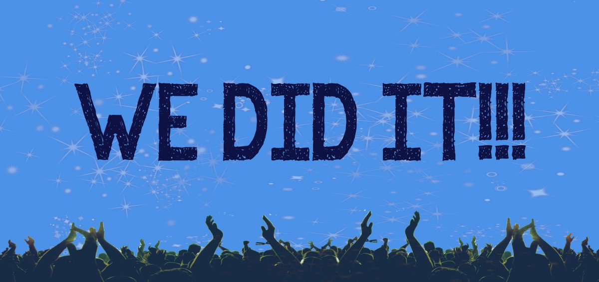 we did it donors raise additional 20 000 in matching challenge