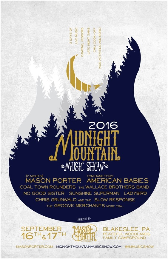 2016 Midnight Mountain Music Show Philadelphia Folksong Society